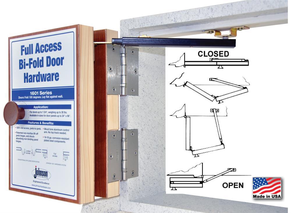 Jhusa Net 1601 Quot Full Access Quot Bi Fold Door Hardware