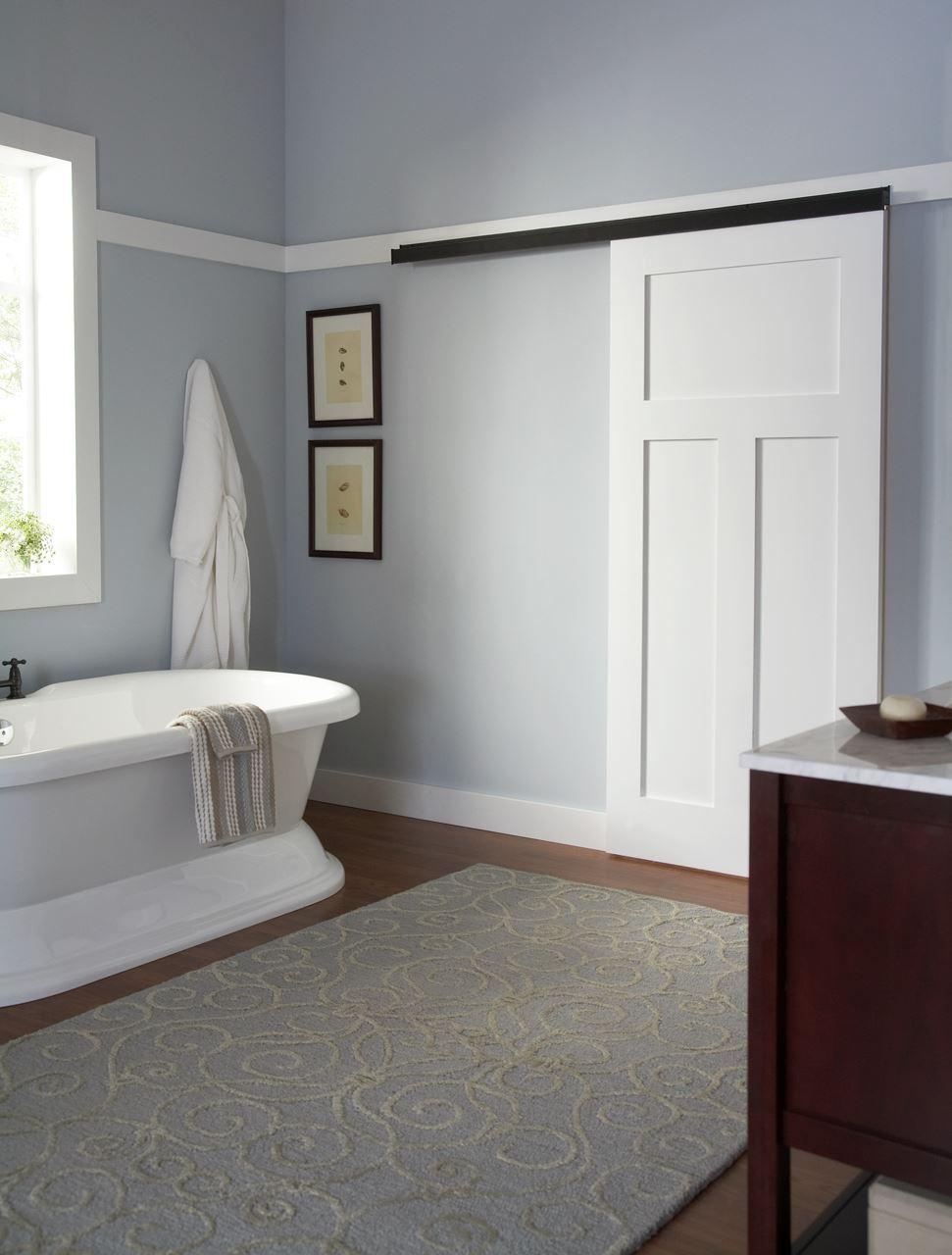 Jhusa Net 2610sc Soft Close Wall Mount Sliding Door Hardware