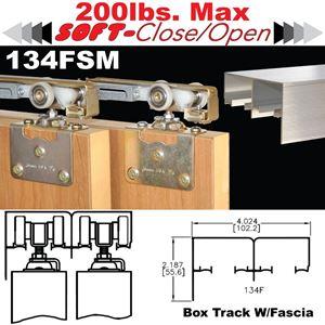 Picture of 134FSM Side Mount Sliding Bypass Door Hardware